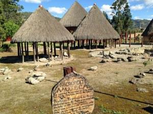 Sogamoso Arch huts